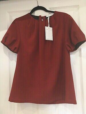 SOCIÉTÉ ANONYME, Kaliningrad Top, red ladies blouse