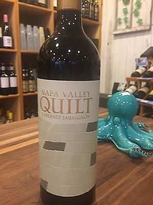 2018 Quilt Cabernet  *** 12 Bottles ***  NAPA