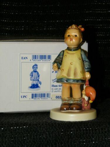 "HUMMEL FIGURINE #649/0  ""Fascination"" TMK 7 MIB"