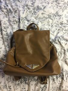 Brown backback/purse