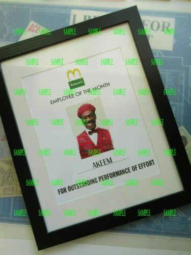 Coming to America - Akeem Employee Poster - Eddie Murphy -
