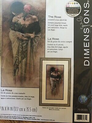 Dimensions The Rose Counted Cross Stitch Kit 7