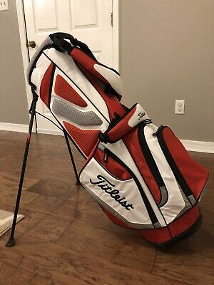 Used Titleist Players Stand Golf Bag