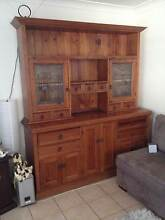 Buffet/hutch with matching extendable dining table - 6 chairs Southport Gold Coast City Preview