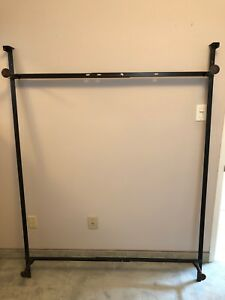 Adjustable Metal Bed Frame for Twin/ Double Bed