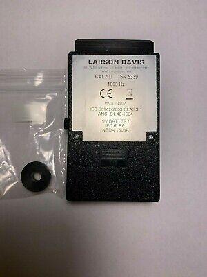 Larson Davis Cal200 1000hz 114db And 94db Handhold Acoustics Calibrator