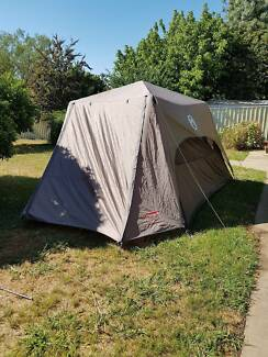 Coleman 6 person instant up tent in as new condition & Coleman Instant up 6peopls tent - Perfect for Beginners ...