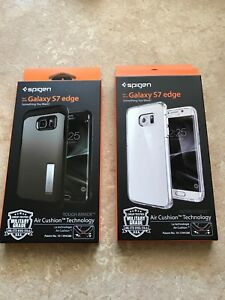 2 Spigen Samsung Galaxy S7 Edge cases for sale
