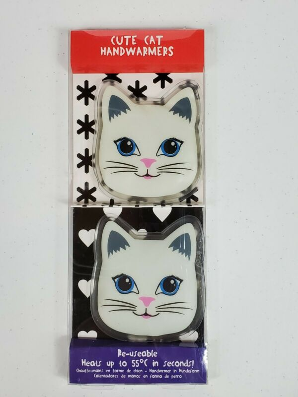 Paladone Reusable Cute Cat Handwarmers Novelty Heats Up In Seconds  New