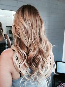 HAIR EXTENSIONS Thick Soft Russian remy hair full head $280 cutin Clear Island Waters Gold Coast City Preview