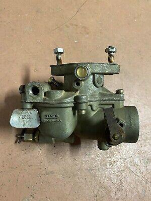 Farmall Zenith Carburetor Tractor Models 100 300 140 Super A Super C Usa Made