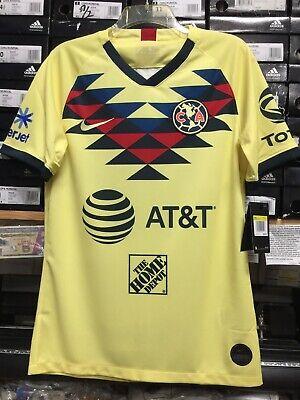 4cc6bf1d88d Nike Club America Home Jersey 2019/20 Playera Del America Stadium Cut Size  Large