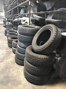 Cheap Second Hand FWD Tyres! Holden Hill Tea Tree Gully Area Preview