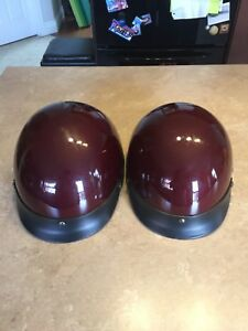 Motorcycle Helmets His and Hers