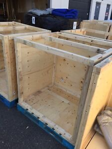 8 Shipping Crates