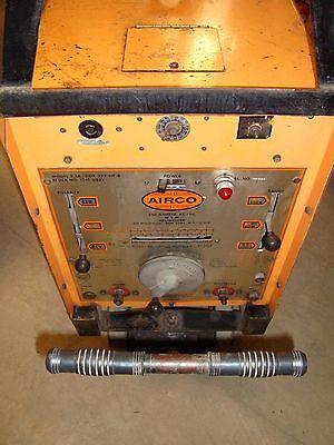 Airco 250 Amp Tig Welder Heliwelder Model 2.5a Ddr-224-hf-b Wwheels 1341-0232