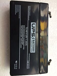 New UPS battery TLV614 for security alarms