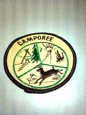 Vintage CAMPOREE Boy Scouts of America Patch Badge