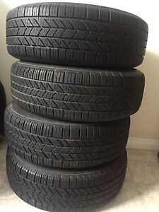 Set of new tires and rims 205/65/R15