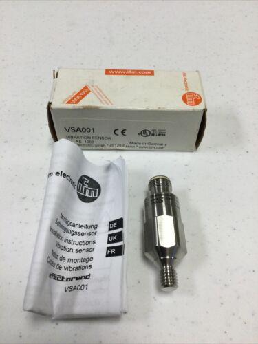 IFM VSA001 Accelerometer Vibration Sensor, Brand New U.S. Inventory - $32.95