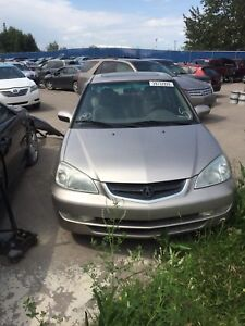 2002 Acura EL in Gold colour for Parts