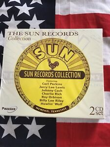 The Sun Records Collection - X2 Cd Box Set - Rockabilly CD's