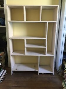 Multi-compartment shelving unit - SOLD PPU