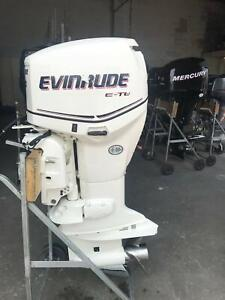 90hp Evinrude Etec outboard Southport Gold Coast City Preview