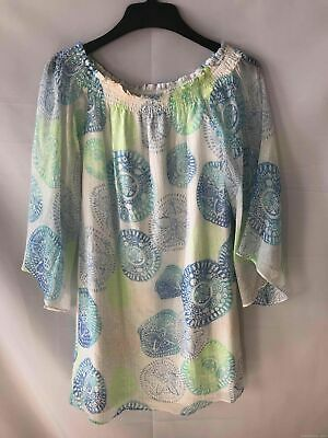 Lilly Pulitzer Off The Shoulder Dress - Women's Size Medium New With Tags