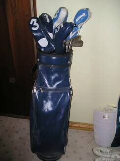 GOLF BUGGY BAG AND CLUBS Tea Tree Gully Tea Tree Gully Area Preview