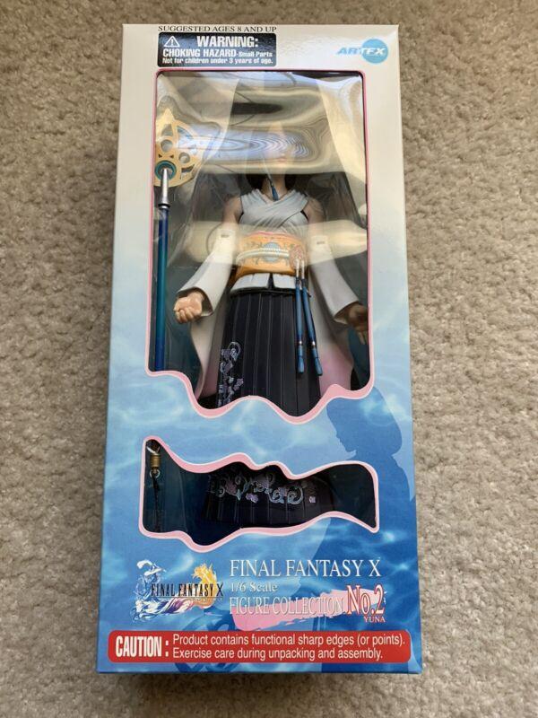 Final fantasy X FF10 Yuna Figure 1/6 Scale Figure Collection No. 2 Artfx New