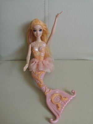 rmaidia Meerjungfrau Mattel orange Haare Modepuppe Puppe (Barbie Mermaidia)