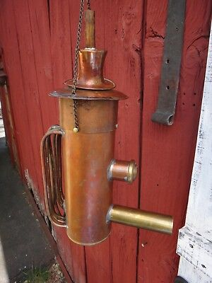 Museum Quality Antique Musical Thump Kettle Doubler Keg for a Moonshine Still
