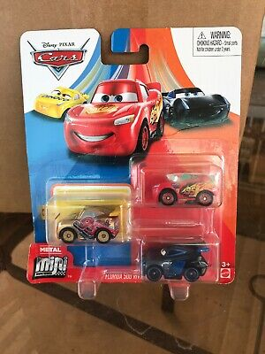 NIP DISNEY PIXAR CARS DIE CAST MINI RACERS FLORIDA 500 RIVALRY SERIES 3 PACK