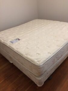 King size frame, box spring(s) and mattress