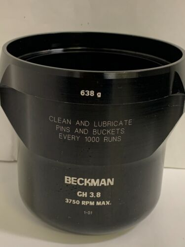 BECKMAN Centrifuge Swinging Roter Buckets with pad GH3.8 / 638g