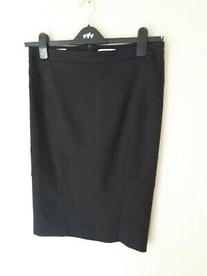 iBlues Black Pencil Skirt Size UK 10
