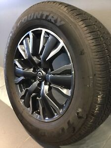 """NISSAN NAVARA NP300 MY18 18"""" GENUINE ALLOY WHEELS AND TYRES Carramar Fairfield Area Preview"""