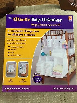 The Ultimate Baby Organizer by Dex. New in box. Never (Dex Organizer)