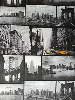 NEW YORK CITY BLACK AND WHITE WALLPAPER