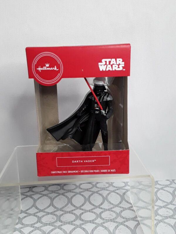 Hallmark Disney Star Wars Darth Vader Santa Hat Christmas Ornament NEW