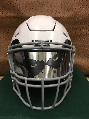 148e14a7 Joker Eyes Chrome Custom Full Football Helmet Visor, Laser Etched Universal  Fit