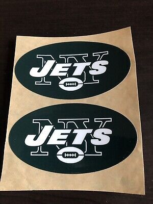 NEW YORK JETS AUTHENTIC FULL SIZE NFL REPLICA HELMET DECAL SET LE'VEON BELL - Jets Authentic Helmet