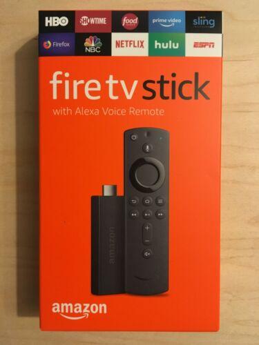 Amazon Fire TV Stick (2019 Model) with Alexa Voice Remote Media Streamer