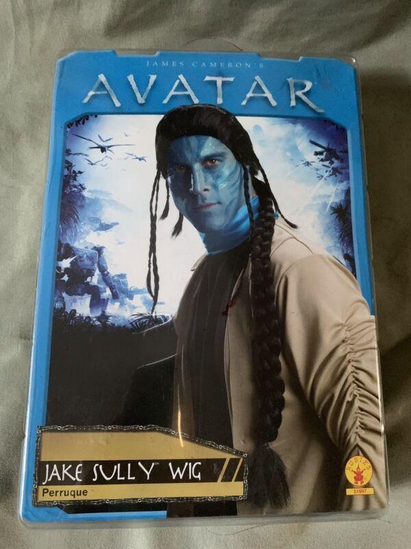 Halloween Costume Jake Sully Wig James Cameron Avatar NIP