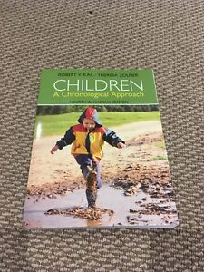 SHERIDAN CYC STUDENTS- Child Development Textbook