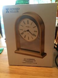Howard Miller 613-118 Reminisce Table, Mantel / Shelf Quartz Clock Japan Movt.