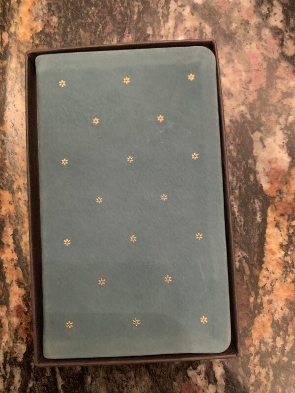 Vintage Michael Graves Leather Gold Star 1991 Calendar Pocket Planner book