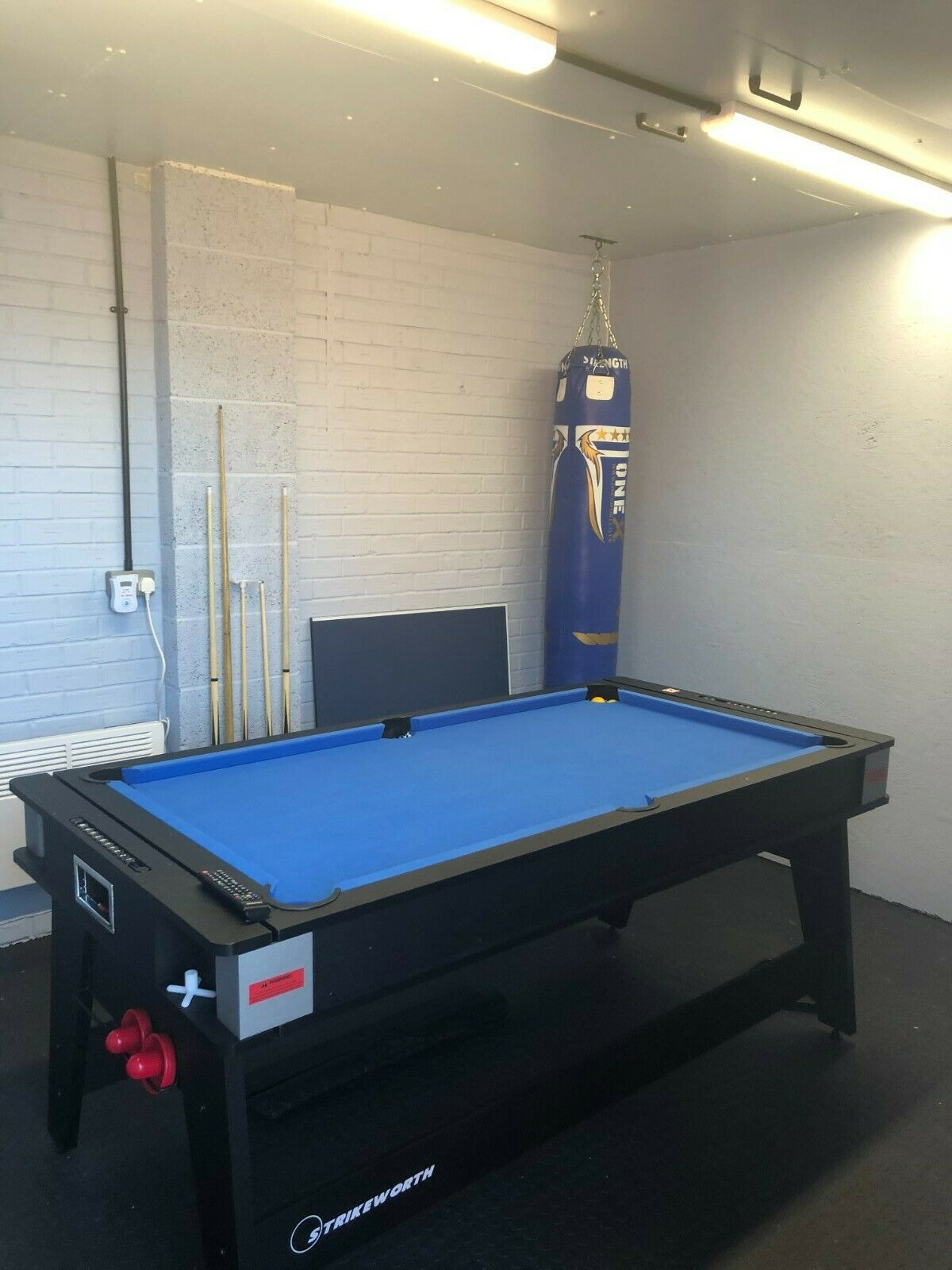 3in1 Multi Games Table  6ft Strikeworth, Pool, Table Tennis, Powered Air Hockey