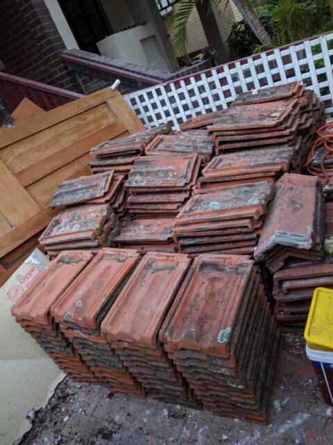 Used Terracotta roof tiles - Central Brick/Mod French ...